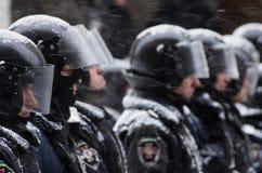 Protesto antigovernamental em Ucrânia Foto de Stock