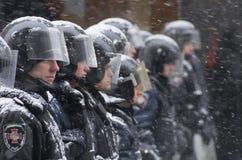 Protesto antigovernamental em Ucrânia Fotos de Stock Royalty Free