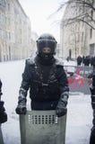 Protesto antigovernamental em Ucrânia Fotografia de Stock Royalty Free
