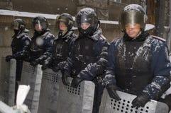 Protesto antigovernamental em Ucrânia Imagens de Stock Royalty Free