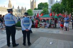 Protesto da austeridade Imagem de Stock Royalty Free