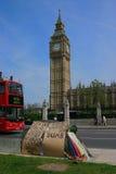 Protesto da paz de Londres imagem de stock