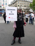 Protesto da rua Imagem de Stock Royalty Free