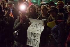 Protesto de Michael Brown imagens de stock