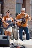 Protesto de Natalie Maines At Texan Pro-Choice Imagens de Stock Royalty Free