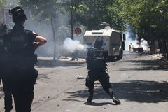 Protesto do parque de Taksim Fotografia de Stock Royalty Free