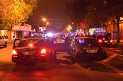 Protesto do tiro de Ferguson em Oakland CA Fotografia de Stock
