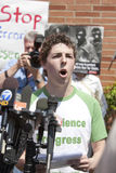 Protesto do UCLA Foto de Stock