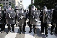 Protesto em Toronto. fotografia de stock