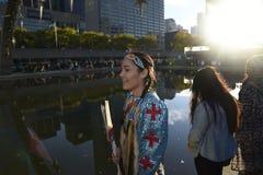 Protesto ereto da rocha em Toronto imagens de stock royalty free