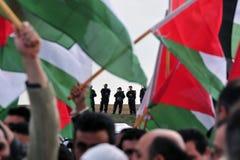 Protesto palestino dos povos Imagem de Stock Royalty Free