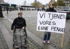 PROTESTO POR ESPORTES DO CAVALO Fotografia de Stock