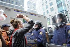 Protestor. Royalty-vrije Stock Foto's