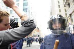 Protestor. Royalty-vrije Stock Afbeeldingen