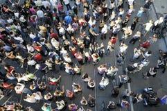 Protestors. Stock Image