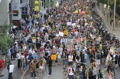 Protestors. Stockfotografie