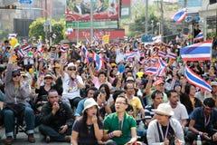Protestors imagem de stock
