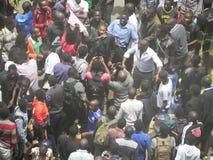 Protestors in Narobi Stock Images