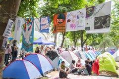 Protestos civis contra o governo em Turquia, 2013 Imagens de Stock Royalty Free