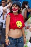 Protestos de Barcelona 19J Foto de Stock