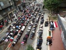 Protestos de Egypts Imagem de Stock