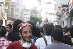 Protestos de Istambul Taksim Foto de Stock