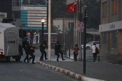 Protestos de Istambul Taksim Fotografia de Stock Royalty Free