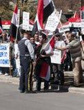 Protestos de Syria Foto de Stock Royalty Free