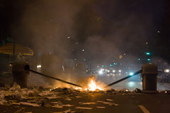 Protestos de Velezuelan Imagens de Stock