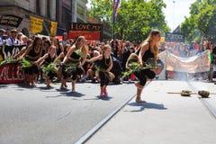 Protestos do dia de Austrália do dia da invasão em Melbourne Imagem de Stock