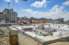 Protestos e eventos do parque de Taksim Gezi A vista de Taksim Squar Imagens de Stock Royalty Free