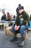 Protestos em Kiev. Ucrânia Imagem de Stock Royalty Free