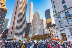 Protestos em New York Imagem de Stock Royalty Free