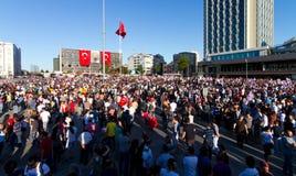Protestos em Turquia Foto de Stock Royalty Free