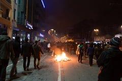 Protestos em Turquia Fotos de Stock Royalty Free