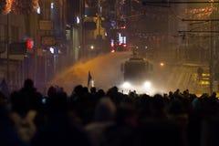 Protestos em Turquia Imagem de Stock