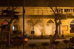 Protestos em Turquia Fotografia de Stock Royalty Free