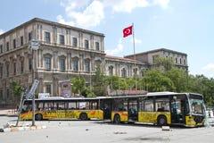 Protestos em Turquia em junho de 2013 Fotografia de Stock