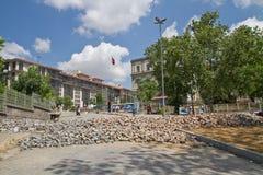 Protestos em Turquia em junho de 2013 Foto de Stock