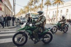 Protestos em Valparaiso Fotos de Stock Royalty Free