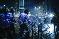 Protestos Romênia Imagens de Stock