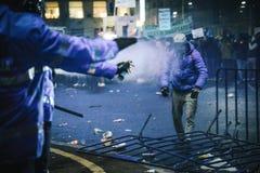 Protestos Romênia Fotografia de Stock