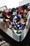 Protestregenschirm Stockfotos