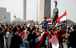 Protests Against Mubarak in Egypt