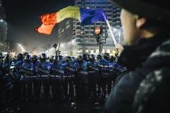 Protests Romania Stock Photos