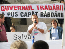 Protests for Rosia Montana Royalty Free Stock Photography