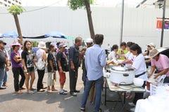 Protests to Shut Down Bangkok Stock Photos