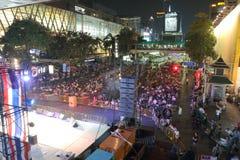 Protests to Shut Down Bangkok Stock Image
