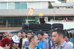 Protests in Turkey in june 2013 Stock Photo