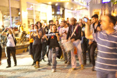 Protests in Turkey in june 2013 Stock Photography